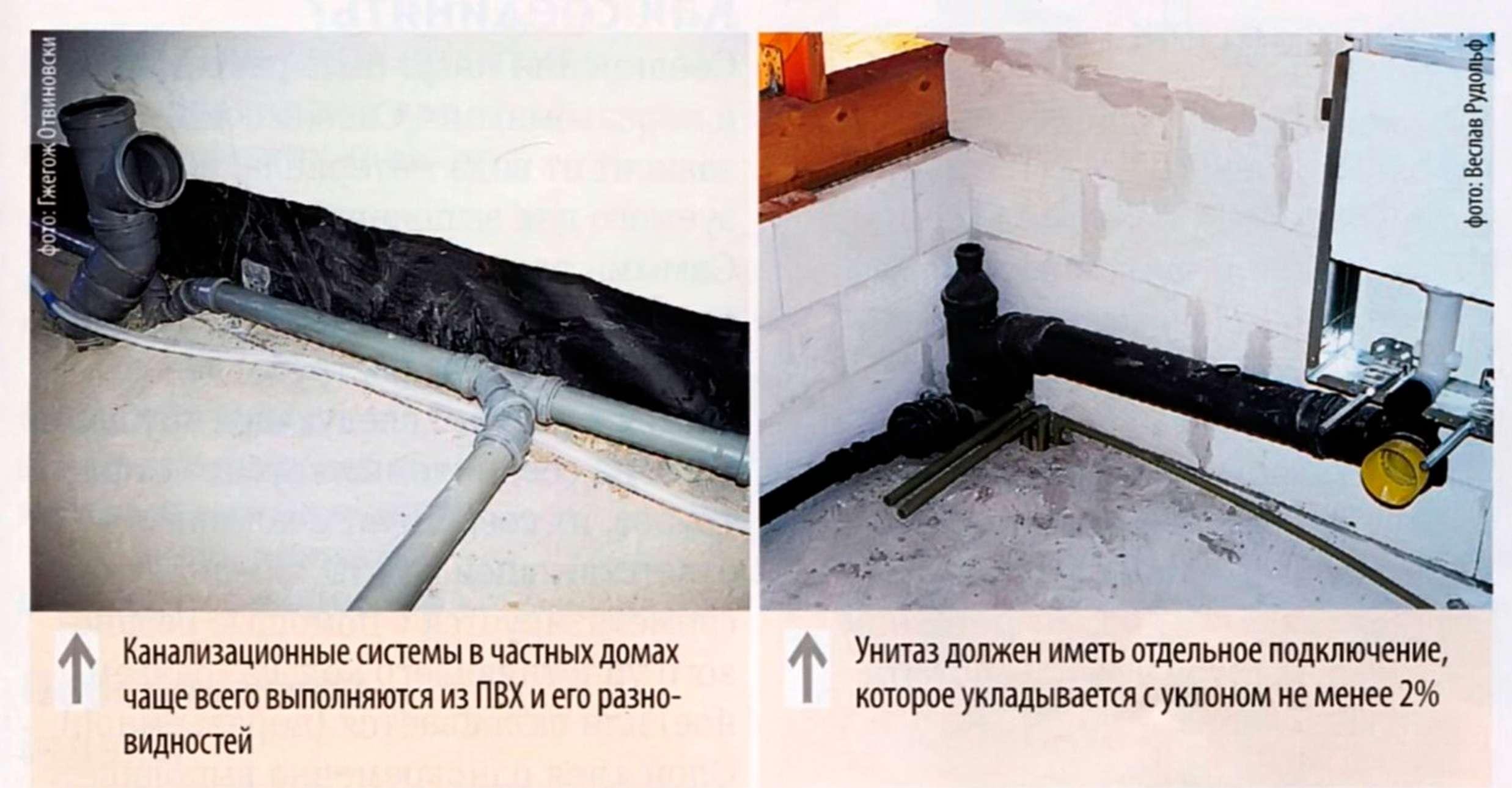 Как правильно сделать канализационную систему 164